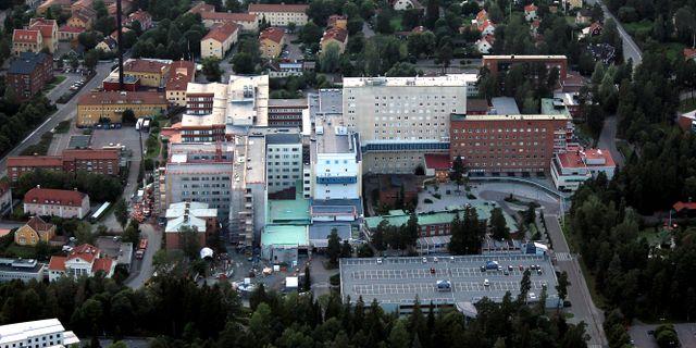 Falu lasarett från ovan Av Calle Eklund/V-wolf - Eget arbete, CC BY-SA 3.0,
