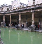 Romerskt spa i den engelska staden Bath.  Fritz Faerber / TT NYHETSBYRÅN