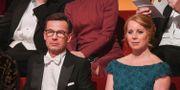 Moderaternas partiledare Ulf Kristersson och centerpartiets Annie Lööf inför Nobelprisutdelningen i Konserthuse 10 december  Henrik Montgomery/TT / TT NYHETSBYRÅN