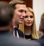 Ivanka Trump och Jared Kushner Andrew Harnik / TT NYHETSBYRÅN/ NTB Scanpix