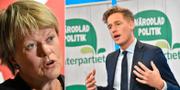 Ulla Andersson och Emil Källström. TT