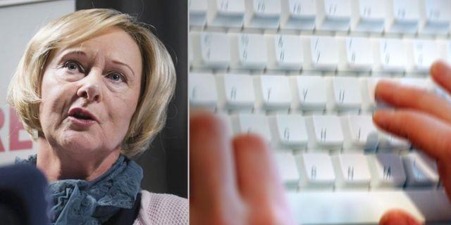 SKL:s ordförande Lena Micko (S). TT