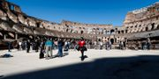 Pressträff på Colosseum inför öppningen. Cecilia Fabiano / TT NYHETSBYRÅN