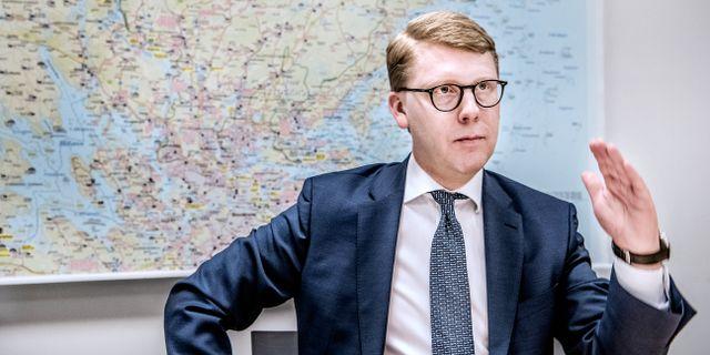 Kristoffer Tamsons (M). Tomas Oneborg/SvD/TT / TT NYHETSBYRÅN