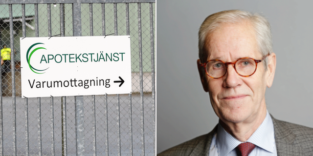 Apotekstjänst/Börje Wennberg (S). TT/PRESS