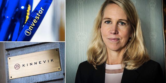 Industrivärdens vd Helena Stjernholm.  TT
