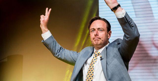 Bart De Wever/Arkivbild Geert Vanden Wijngaert / TT NYHETSBYRÅN