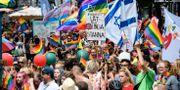 Prideparaden i Malmö i år. Arkivbild. Johan Nilsson/TT / TT NYHETSBYRÅN
