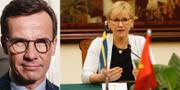 Ulf Kristersson (M). Utrikesminister Margot Wallström (S) under ett möte med Vietnam. TT