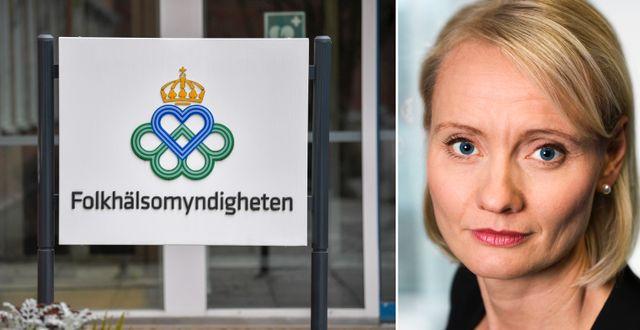 Karin Tegmark-Wisell. TT/Folkhälsomyndigheten