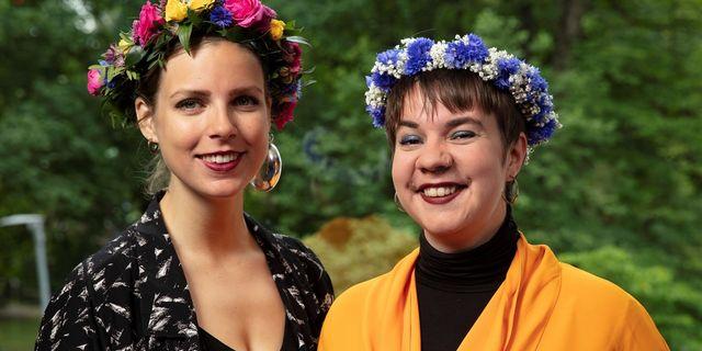 Sara Parkman och Samantha Ohlanders. SR
