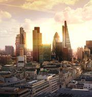 Londons finansdistrikt. Shutterstock