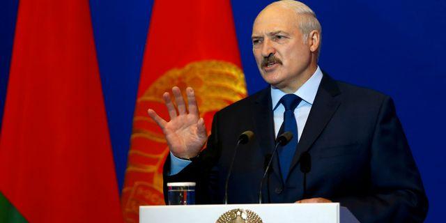 Arkivbild. Alexandr Lukasjenko. Vasily Fedosenko / TT NYHETSBYRÅN
