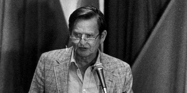 Olof Palme 1981. Göran Stenberg/TT / TT NYHETSBYRÅN