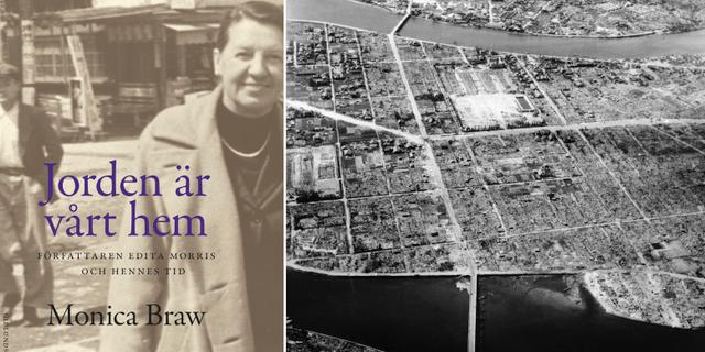 Edita Morris / Förstörelsen efter atombomben som föll över Hiroshima. TT/AP