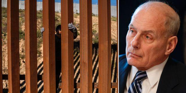 Muren till Mexiko/John Kelly. TT