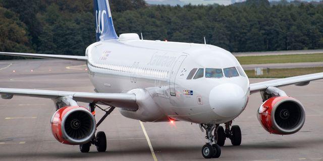 Ett flygplan/arkivbild.  Johan Nilsson/TT / TT NYHETSBYRÅN