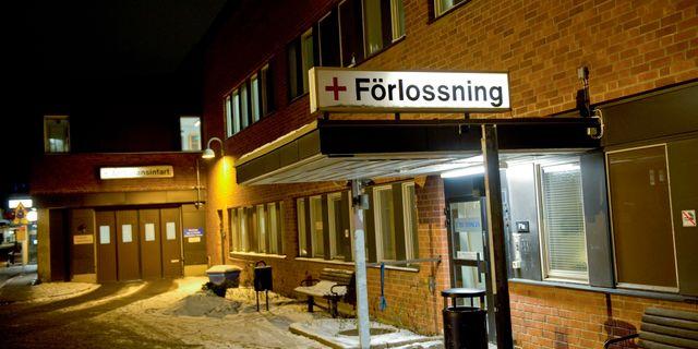 Förlossningsavdelning.  FREDRIK SANDBERG / TT / TT NYHETSBYRÅN