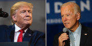 Donald Trump/Joe Biden. TT