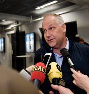 Vänsterpartiets ledare Jonas Sjöstedt.  Stina Stjernkvist/TT / TT NYHETSBYRÅN