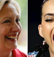 Hillary Clinton, Katy Perry. TT