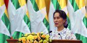 Aung San Suu Kyi Aung Shine Oo / TT NYHETSBYRÅN/ NTB Scanpix