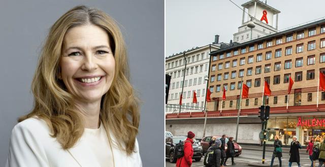 Mia Brunell Livfors Axel Johson//TT