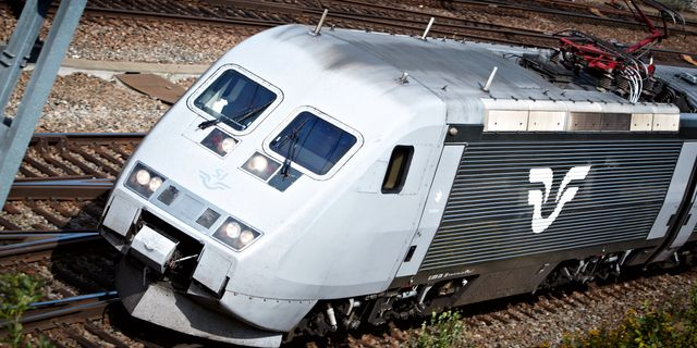 SJ-tåg. FREDRIK PERSSON / SCANPIX / SCANPIX SWEDEN