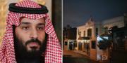 Mohammed bin Salman och det saudiska konsulatet i Istanbul. TT