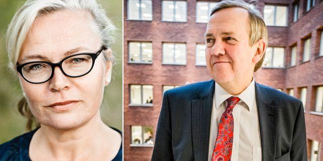 Britta Lejon och Ingemar Hansson. Fackförbundet ST/TT