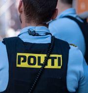 Dansk polis/Illustrationsbild Johan Nilsson/TT / TT NYHETSBYRÅN