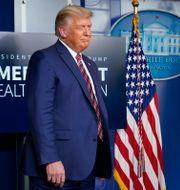 Donald Trump och Alex Azar Susan Walsh / TT NYHETSBYRÅN