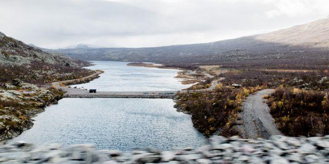 Suorvadammen högt upp i Lule älv. Carl-Johan Utsi / TT / TT NYHETSBYRÅN