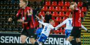 Thorarinsson firar. Sören Andersson/TT / TT NYHETSBYRÅN