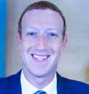 Mark Zuckerberg. Michael Reynolds / TT NYHETSBYRÅN