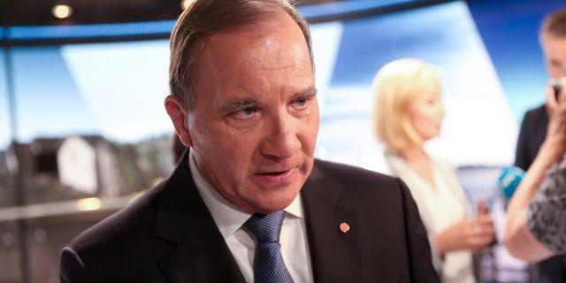 Statsminister Stefan Löfven (S). Sören Andersson/TT / TT NYHETSBYRÅN