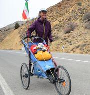 Kristina Paltén i Iran.  Creative commons