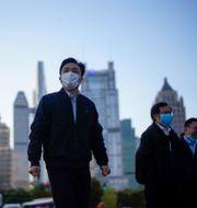 Bild från finansiella distriktet i Shanghai. Aly Song / TT NYHETSBYRÅN