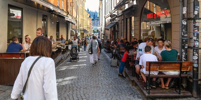 Gamla stan Pontus Lundahl/TT / TT NYHETSBYRÅN