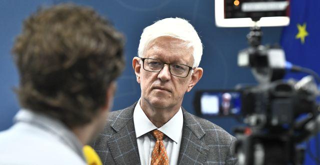 Folkhälsomyndighetens generaldirektör Johan Carlson.  Claudio Bresciani/TT / TT NYHETSBYRÅN