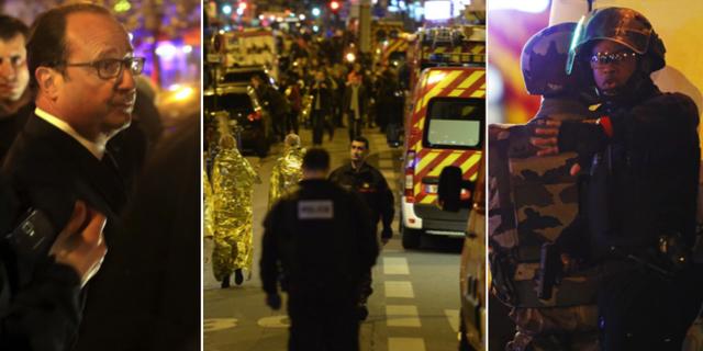 Paris 13 november. TT