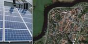 Solceller / Gamleby i Laholm TT / Google maps