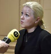 Ulrika Karlsson.  Alexander Larsson Vierth/TT / TT NYHETSBYRÅN