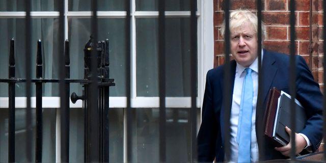 Boris Johnson. TOBY MELVILLE / TT NYHETSBYRÅN