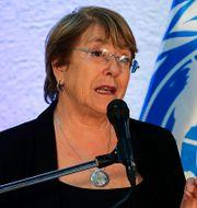 Michelle Bachelet CRISTIAN HERNANDEZ / AFP