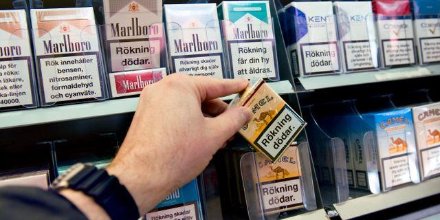 Doms for nio miljoner cigaretter