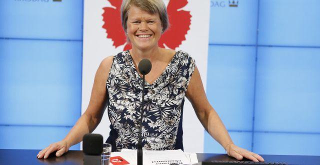 Ulla Andersson, Vänsterpartiets ekonomisk-politiska talesperson. Arkivbild. Christine Olsson/TT / TT NYHETSBYRÅN