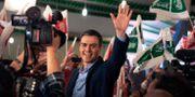 Spaniens premiärminister Pedro Sánchez. Miguel Morenatti / TT NYHETSBYRÅN/ NTB Scanpix