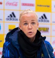 Sveriges lagkapten Caroline Seger. CARL SANDIN / BILDBYRÅN