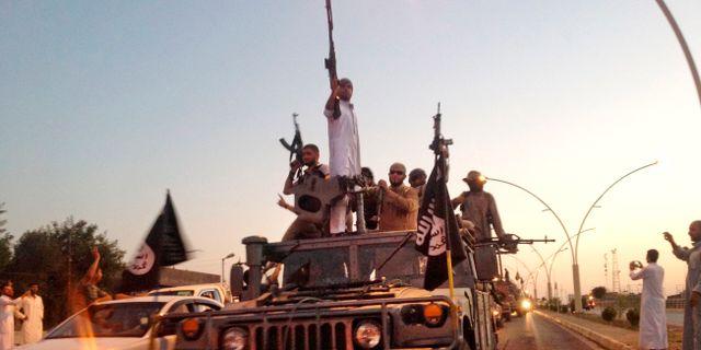IS i Irak. Arkivbild från 2014. TT NYHETSBYRÅN/ NTB Scanpix
